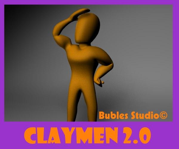 clay man rig blend free