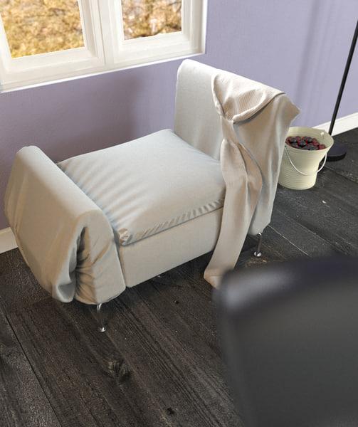 3d chair olson kundig model