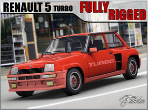 renault 5 turbo fully rigged max