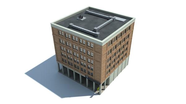3d lwo brick house