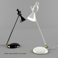 Aloutte Lamps collection in bird shape