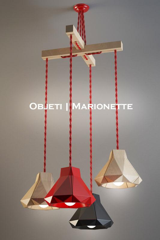 3d model objeti marionette