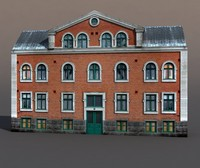 Apartment House #50 Low Poly 3d Model