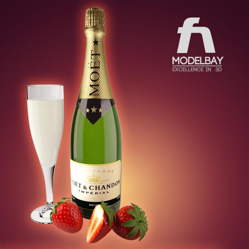 champagne strawberry max