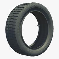 3d wheel tire tread