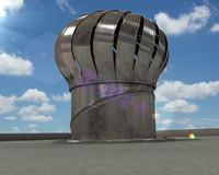 3d air vent model