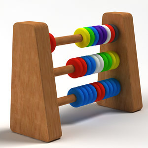3d model abacus 02