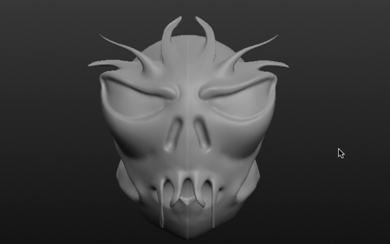 alien head obj free