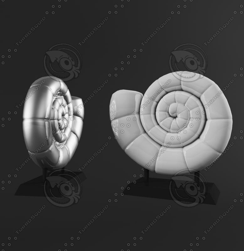 3ds max decorative shell