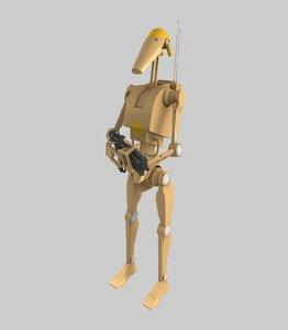 battle droid blaster 3ds