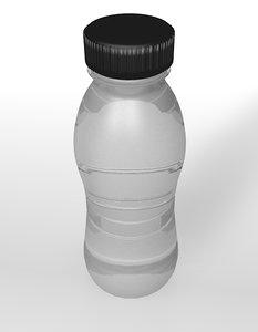 3ds plastic bottle