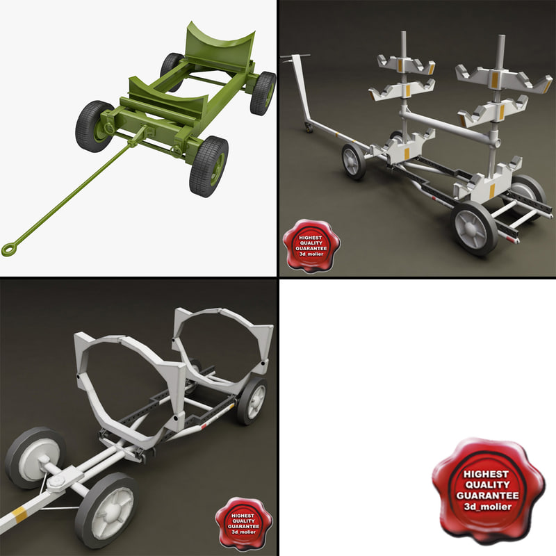 3d model bomb carts v2