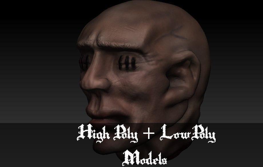 3ds max head asset