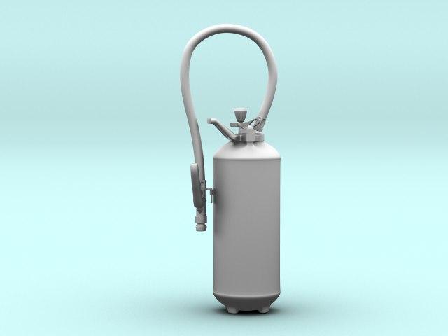 3d obj extinguisher
