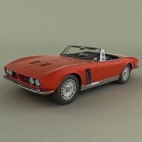 3ds max iso grifo convertible 1964