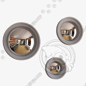 orche circular mirrors max