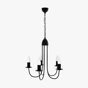 3d model lamp pedant