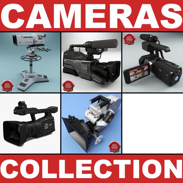 professional cameras v2 3ds