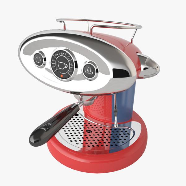 3ds max espresso coffee machine francis