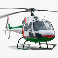 3d eurocopter military 550 model