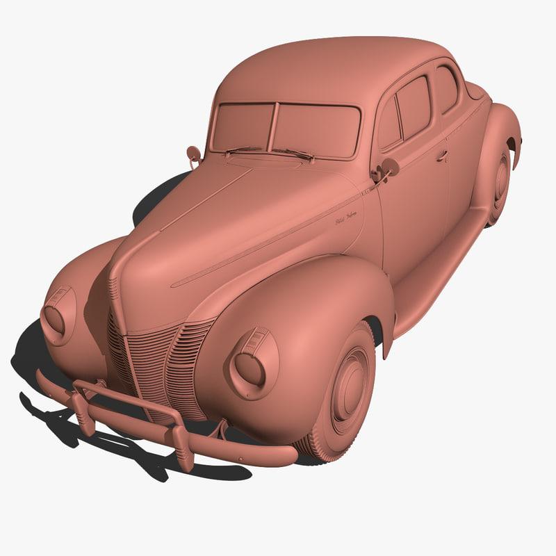 1940 40 3d model