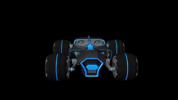 3d tron model