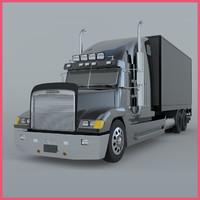 truck loading obj