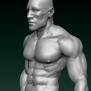 3d model feet body