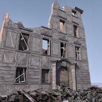 WW2 Ruin 008