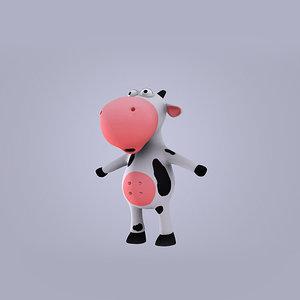 3d cow milk