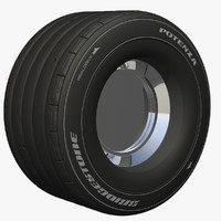 formula1 wheel c4d