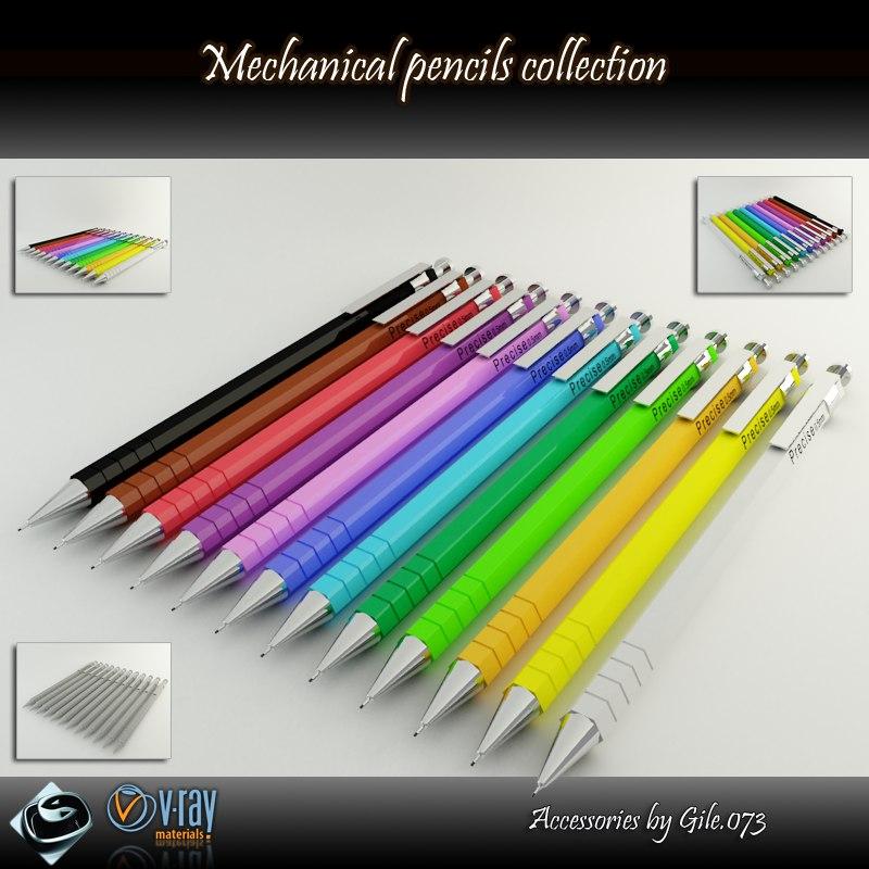 pencil pen mechanical max