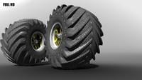 big tire 3d max
