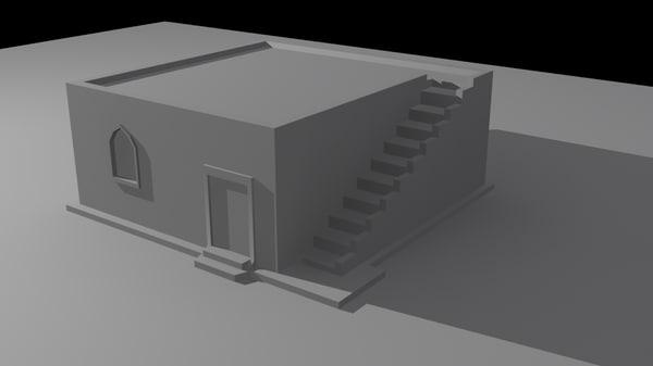 free max model basic house
