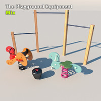 3d playground equipment