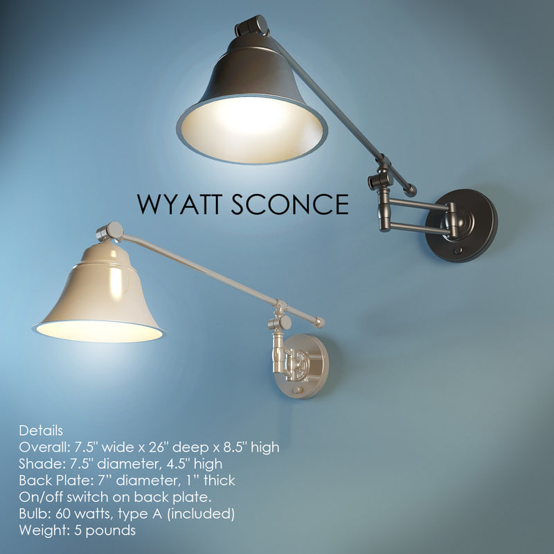 3ds wyatt sconce