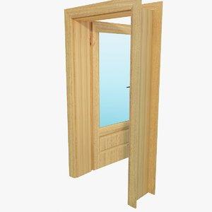 3d model of door 15