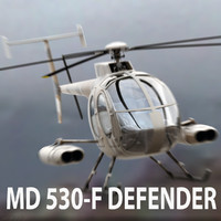 3ds max md 530 helicopter