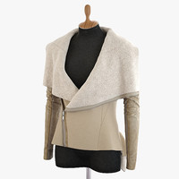 sheepskin coat 3d model