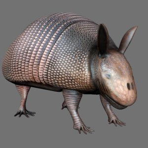 3d animal alien creature