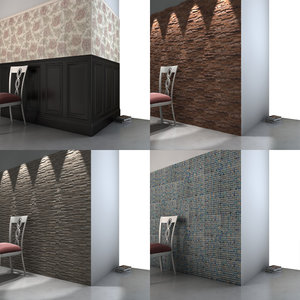 wall cladding c4d