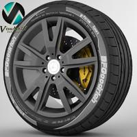 Wheel Mercedes CLS 2