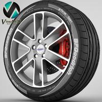 Wheel Volvo S60 1