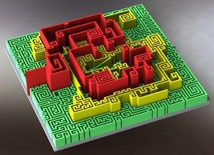 maze 3d max