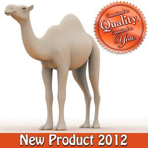 3d camel modeled model