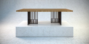 3d codex table model