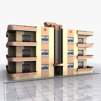 apartment house home 3d max