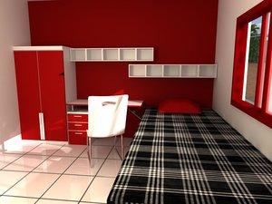 3d room single