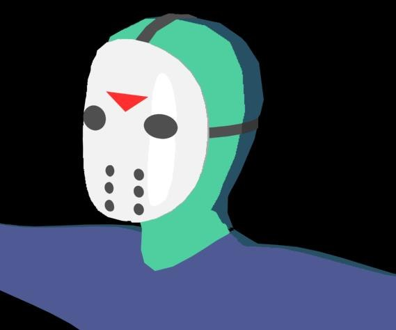 free jason voorhees cartoon 3d model