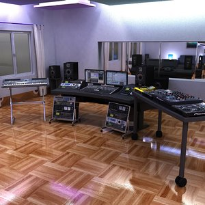 digital music studio pioneer 3d 3ds